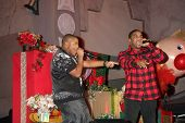 LOS ANGELES - NOV 20:  Chrisopher Massey (Red Shirt), Kyle Massey (Black shirt) at the Tree Lighting Concert 2010  at Hollywood & Highland Center Court on November 20, 2010 in Los Angeles, CA