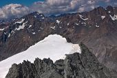 Mount Cook Peak Aerial Photo