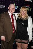 LOS ANGELES - DEC 4:  Matt Lucas, Rebel Wilson arrives at Variety's Power of Comedy 2010 at Club Nok