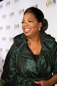 LOS ANGELES - JAN 6:  Oprah Winfrey arrives at the Oprah Winfrey Network Winter 2011 TCA Party at Th