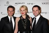 LOS ANGELES - JAN 15: Ioan Gruffudd, Alice Evans, Matthew Rhys arrives at the Art Of Elysium 'Heaven