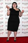 LOS ANGELES - FEB 10:  Beth Ditto arrives at the Belvedere RED Special Edition Bottle Launch at Aval
