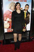 LOS ANGELES - 10 de FEB: Iva La'Shawn llega a la