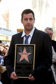 LOS ANGELES - FEB 1:  Adam Sandler at the Adam Sandler Hollywood Walk of Fame Star Ceremony at W Hot