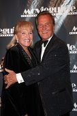 LOS ANGELES - FEB 18:  Shirley Foley Boone, Pat Boone arrives at the 19th Annual Movieguide Awards G