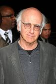 LOS ANGELES - FEB 23:  Larry David arrives at the