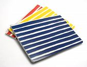 Striped Notebooks