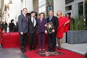 LOS ANGELES -  MARCH 1:  Maestro Zubin Mehta & family attend the Hollywood Walk of Fame Star Ceremony honoring  him on March 1, 2011 in Los Angeles, CA. His star is on Vine Street, south of Hollywood Blvd.