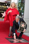 LOS ANGELES -  MARCH 1: Maestro Zubin Mehta & wife attend the Hollywood Walk of Fame Star Ceremony honoring him on March 1, 2011 in Los Angeles, CA. His star is on Vine Street, south of Hollywood Blvd.