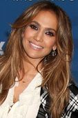LOS ANGELES -  3: Jennifer Lopez arrives at the American Idol Finalists Party - Season 10 at The Gro