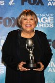 LOS ANGELES -  4: Mavis Staples in the Press Room of the 42nd NAACP Image Awards at Shrine Auditoriu