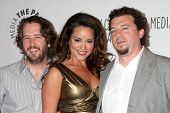 LOS ANGELES - MARCH 10: Steve Little, Katy Mixon, Danny McBride arrive at the