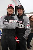 LOS ANGELES - MAR 19:  Bill Fitchner, Kim Coates at the Toyota Pro/Celebrity Race Training Session a