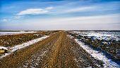 Camino del mar de Wadden para el Mando de la isla, Dinamarca