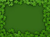 pic of saint patricks day  - 3D llustration with a St - JPG