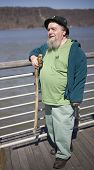 Leprechaun At The Waterfront