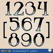 digits of the alphabet