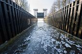 Ice In Sluice