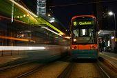 zwei Seilbahnen / Straßenbahnen (einer von ihnen verschieben) in Frankfurt am Main