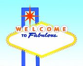 image of las vegas casino  - illustration of the neon illuminated Las Vegas sign left blank for your text - JPG