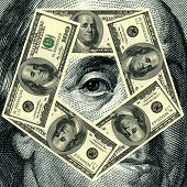 Franklin Benjamin Portrait Cutout