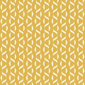 Vector Minimalist Geometric Seamless Pattern With Small Wavy Shapes, Curved Lines, Stripes. Simple A poster