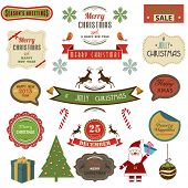 Collection of Christmas Design Elements.Vector