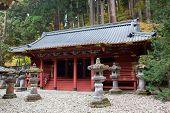 Rinno-ji Buddhist Temple In Nikko