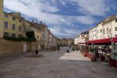 Cidade de Aix-en-provence, velha