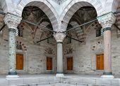 Pillars at Beyazit Mosque