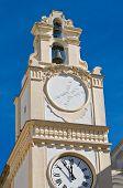 Clocktower. Gallipoli. Puglia. Italy.