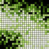 Green blocks background