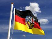 Saarland Flag Germany