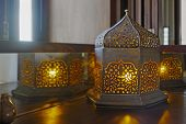 Oriental Table Lamp Corner Table