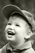 Vintage Laughing Kid