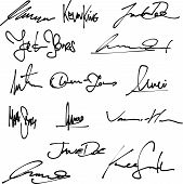 Business signatures