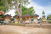 Pura Dalem  Ning Temple in Tanjung Benoa near Nusa Dua, Bali, Indonesia