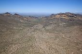 foto of superstition mountains  - Way out West in the Superstition Mountains looking for the Lost Dutchman - JPG