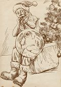 Papai Noel - soprador de vidro