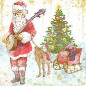 Santa Claus musician