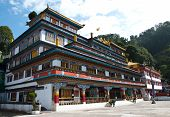 Druk Sa-ngag Choeling Monastery In Darjeeling, India