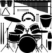 Percussion Instruments And Drums