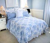 Beautiful Light Blue Bedroom