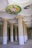 Parc Guell - Sala Hipostila