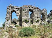 The Byzantine basilica in Sillyon