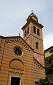 Church Of St. Martin (xii C.) In Portofino, Italy
