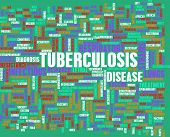 stock photo of tuberculosis  - Tuberculosis Concept as a Medical Research Topic - JPG
