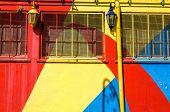 Bright Colors In La Boca