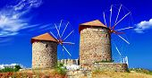 Greek windmills - Patmos island