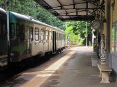 Elegant Railway Station in Tuscany